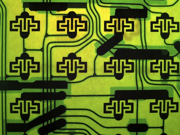 Abstract Circuit Pattern